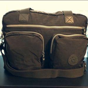 Kipling Sherpa Small Luggage Tote - Brown